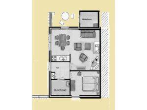 Erdgeschoss-Plan
