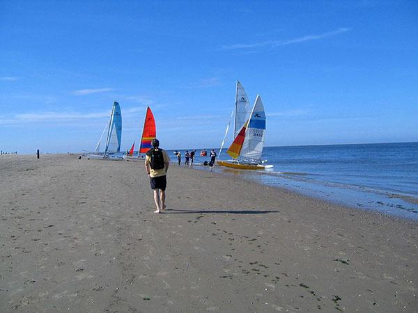 Texel Katamarane im Norden der Insel